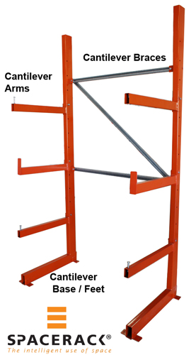 Double Sided Cantilever Rack Heavy Duty Double Sided