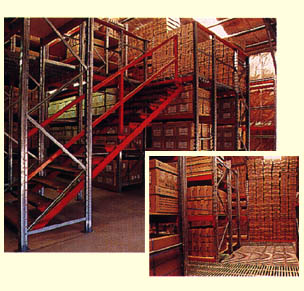 Raised Storage Area With Stairs